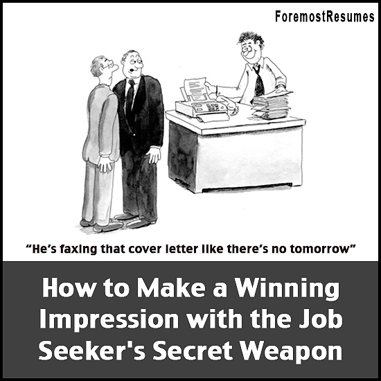 Tips for using your cover letter as a job seeker's weapon