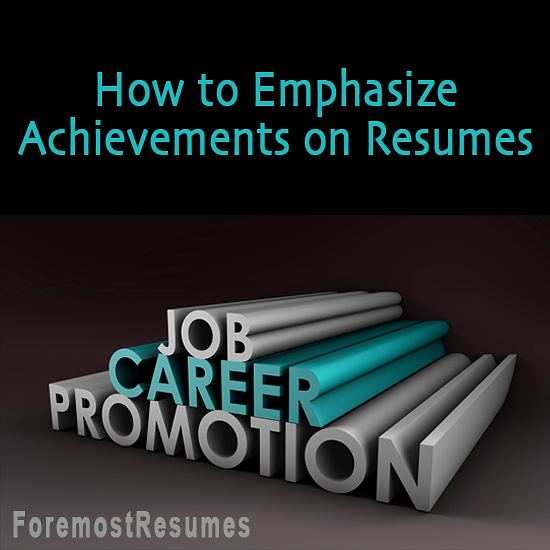 It's essential that your resume emphasize your strengths at a glance