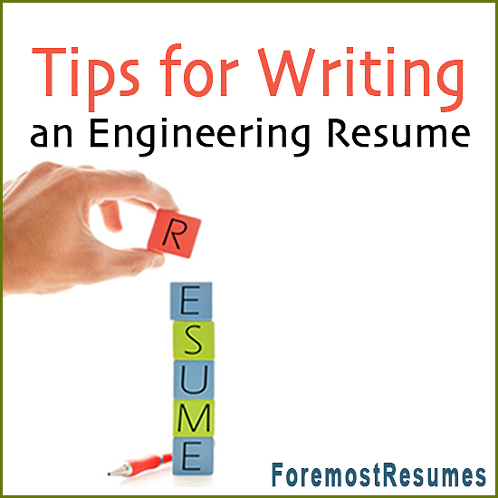 engineering resume writing tips - Tips On Writing Resume