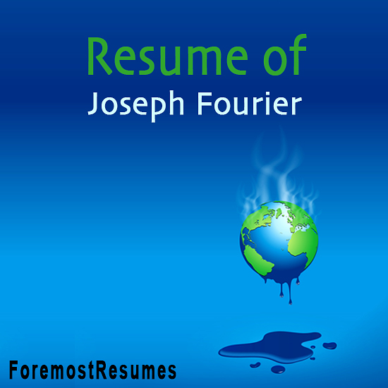 Joseph Fourier discovered the greenhouse effect