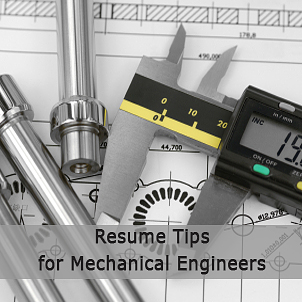 Resume tips for mechanical engineers